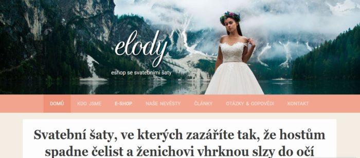 Elody Cz To Neni Jen Obycejny E Shop Se Svatebnimi Saty Skryva V
