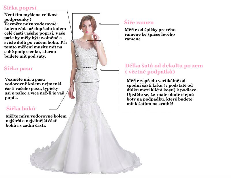 Jak na správnou velikost šatů a který materiál je pro vaše svatební ... 184f496674
