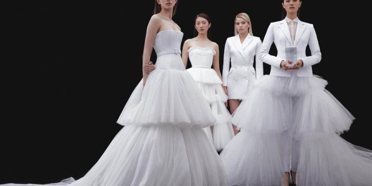 Minimalismus ve svatební módě. Inspirace z minulosti – elegance, dokonalé střihy a krása
