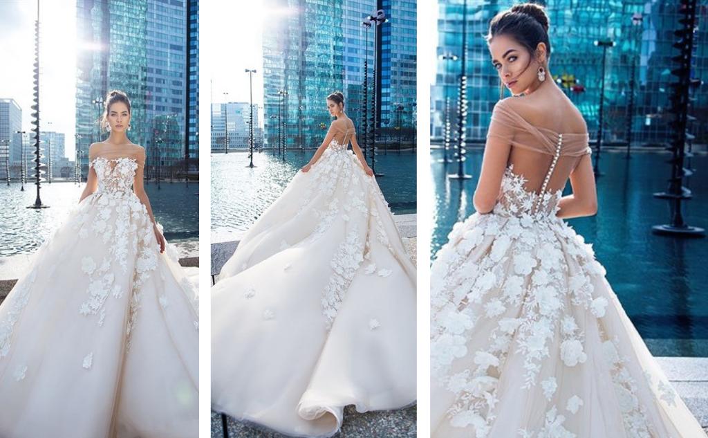 58b9541dd7b7 Kromě klasických svatebních šatů (i s krásnou kolekcí roku 2018) svatební  salon nabízí i šaty pro svatební hosty