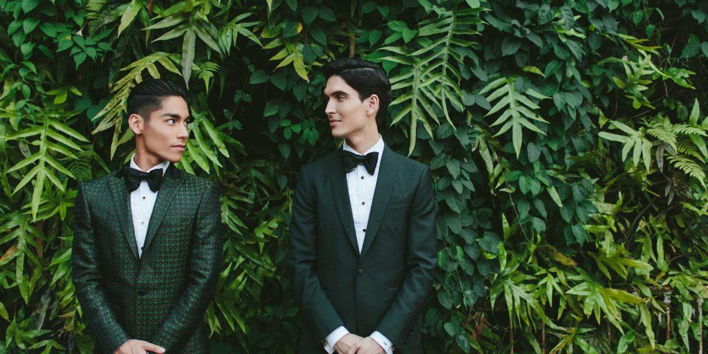34552989c9ce Inspirujte se  Stylová havajská svatba zahalená v zeleni ukázala  nejžhavější trendy
