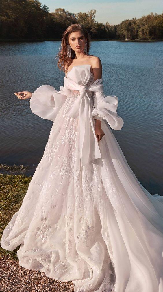 Nevěsta, svatební šaty Galia Lahav