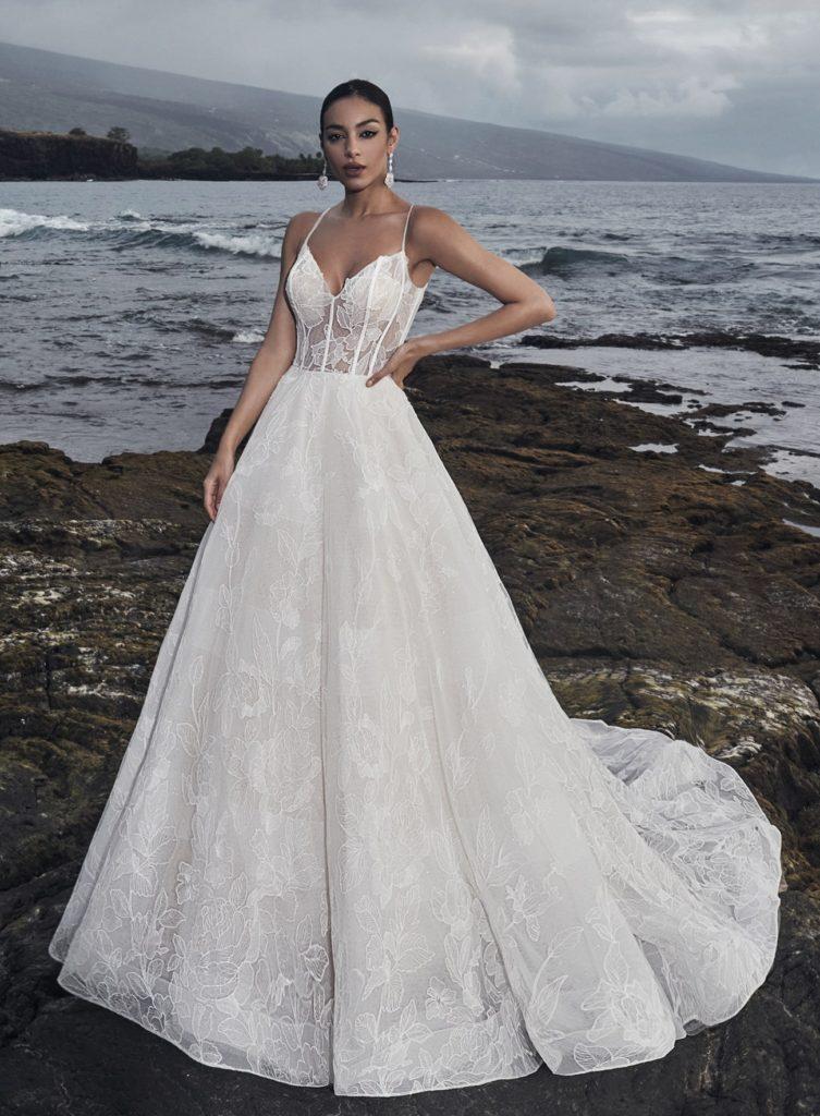 svatební šaty Calla Blanche podzim 2020