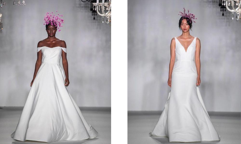 Anne Barge svatební šaty 2020