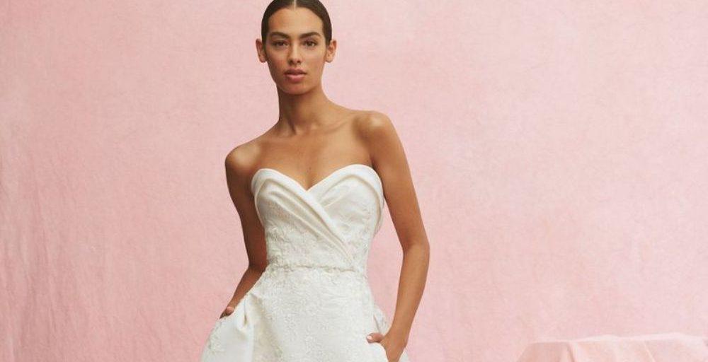 Svatební šaty Carolina Herrera, podzim 2020