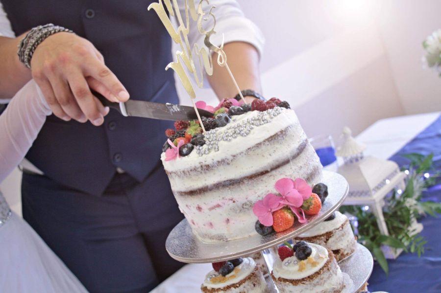 Svatba, svatební dort