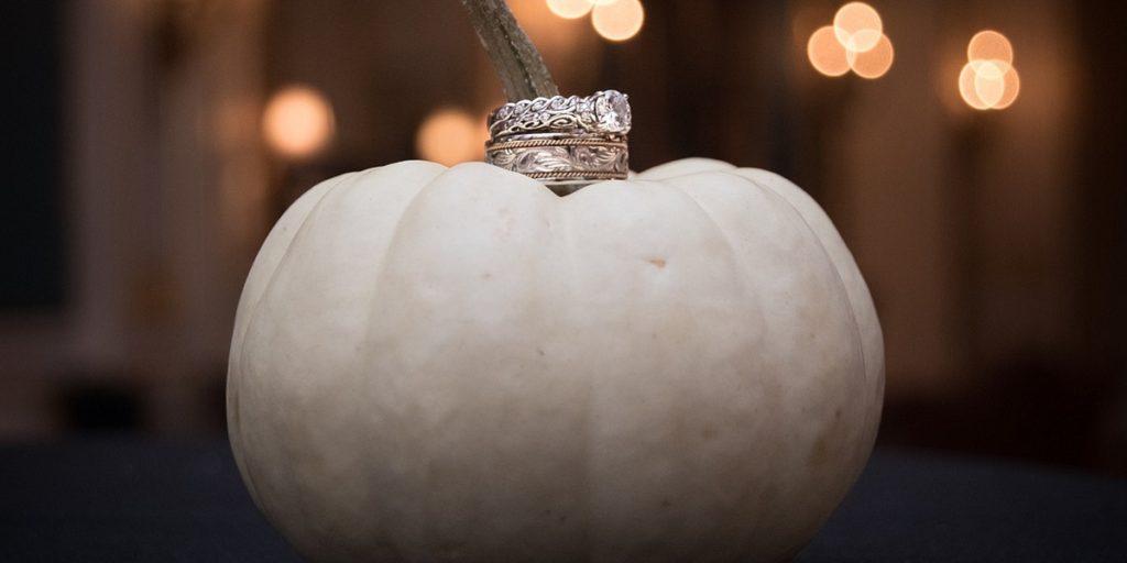 Dýně, halloween, podzimní svatba