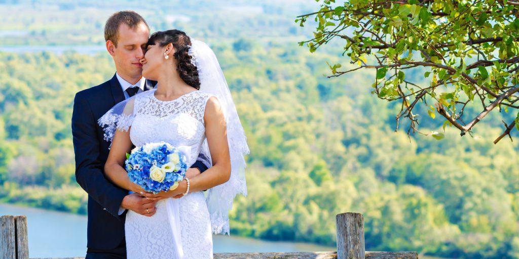 Ženich a nevěsta, svatba, zamilovaní