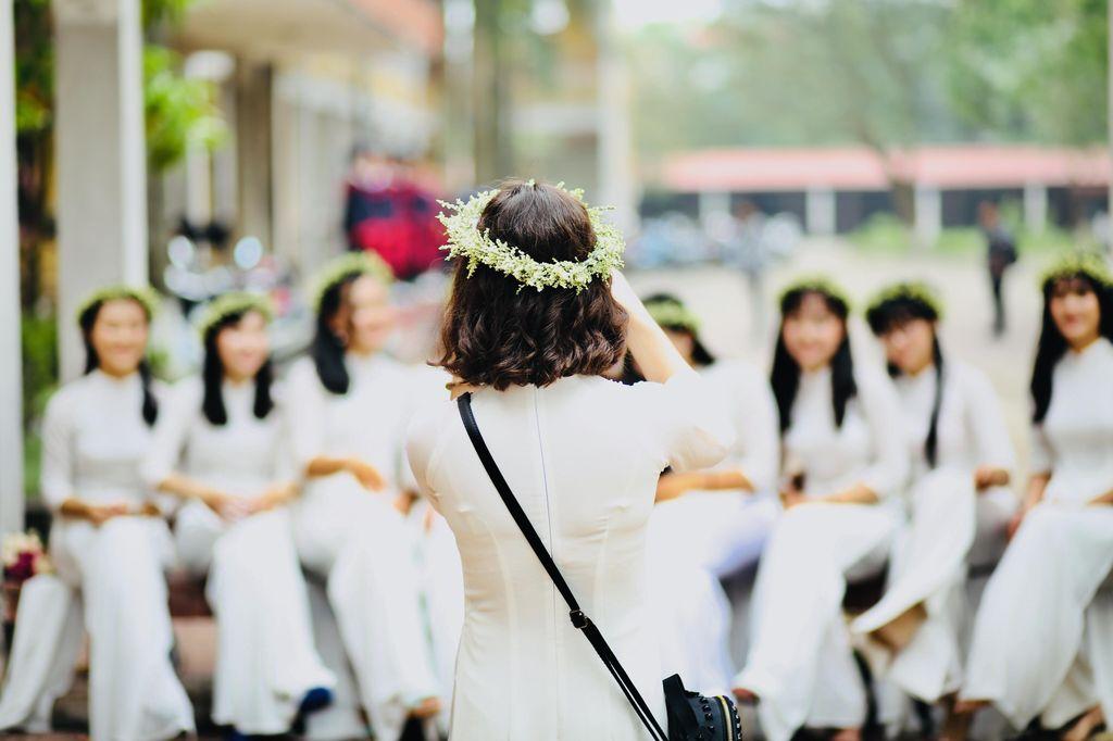 Svatba, družičky, fotograf