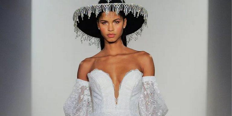 Elie Saab vzdává hold Bejrútu v podobě haute couture kolekce podzim/zima 2020