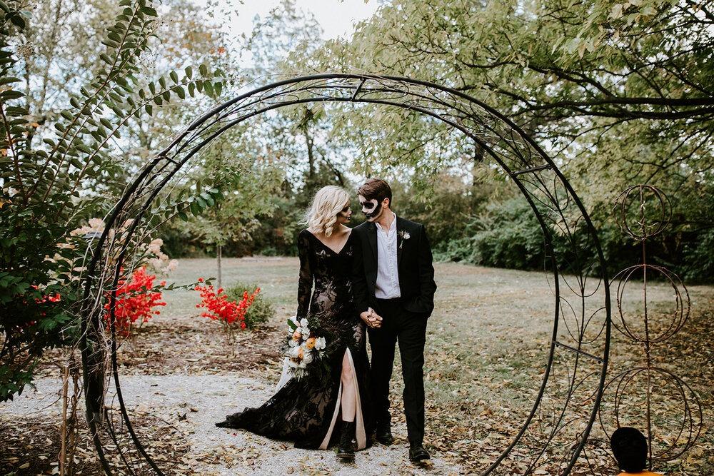 Halloweenská svatba, svatební inspirace