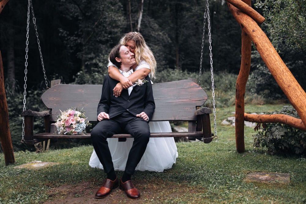 Svatba, nevěsta a ženich