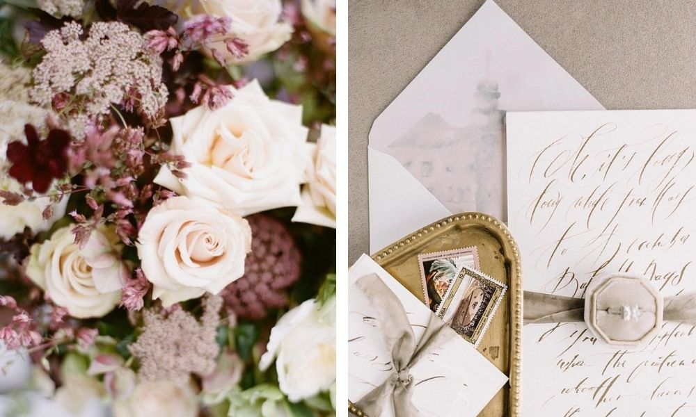svatební barvy podzim 2021