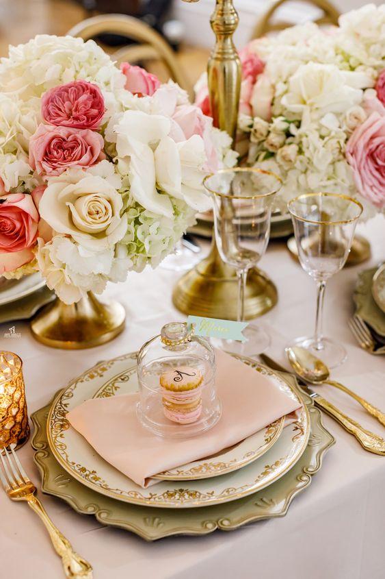 dekorace svatebního stolu