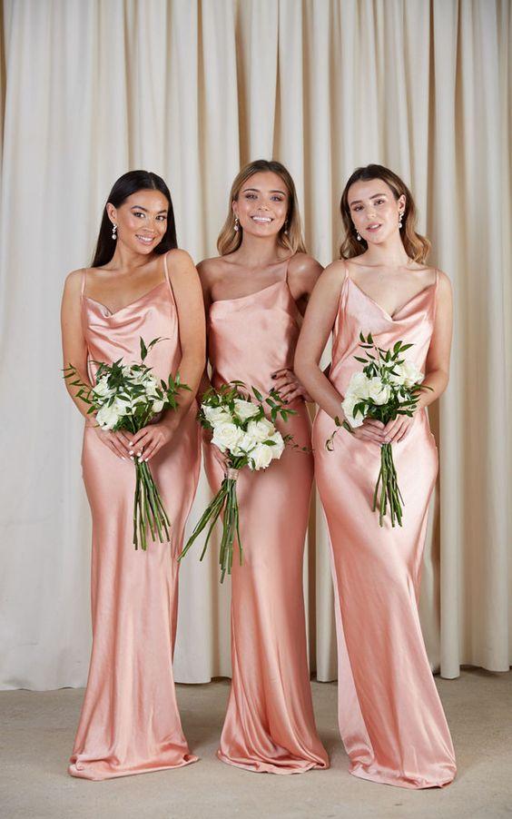 šaty pro družičky 2021