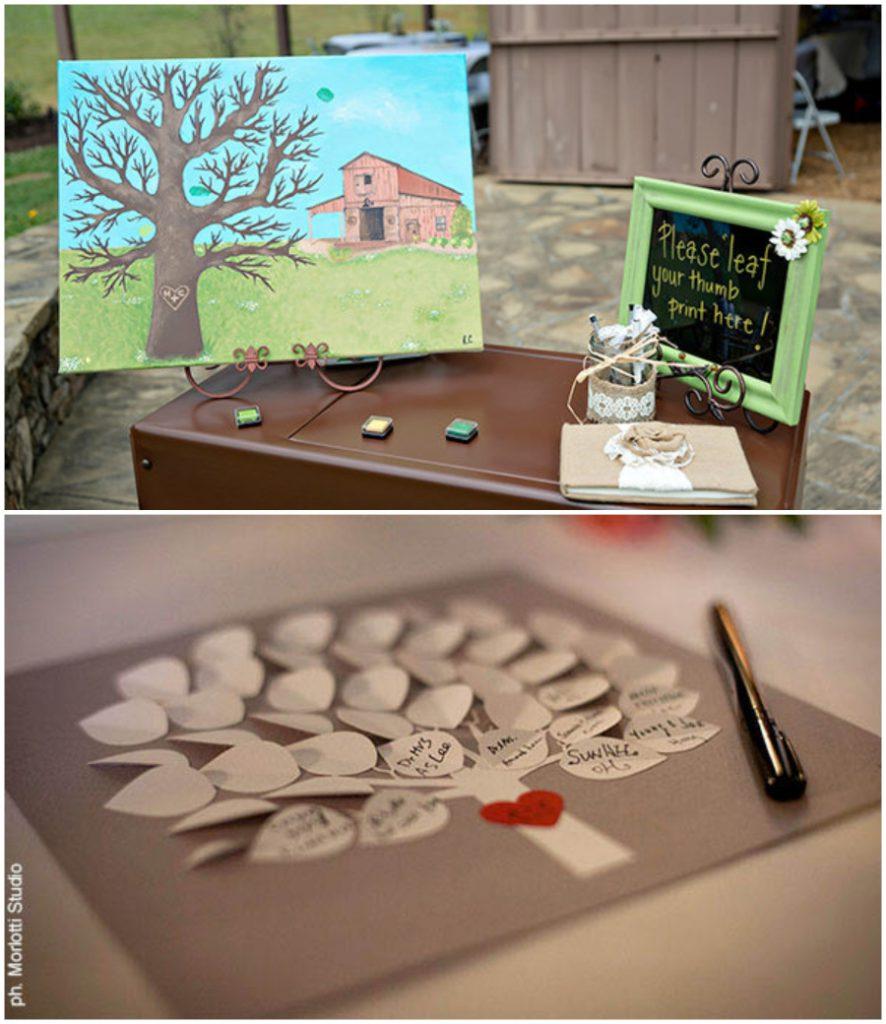 Svatební vzpomínky, svatební strom