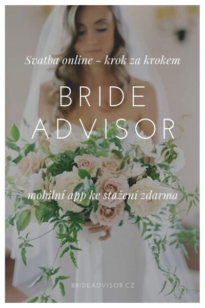 Svatební aplikace plánování svatby bride advisor