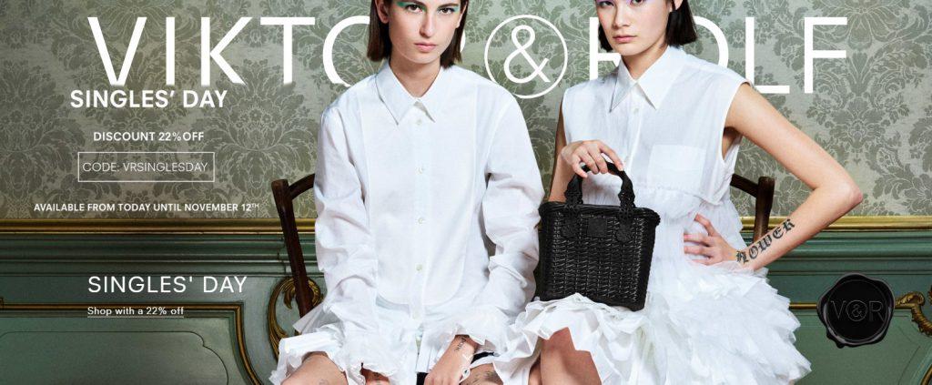 Viktor & Rolf svatební šaty kolekce zima 2020