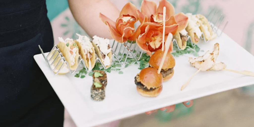 svatební letní menu