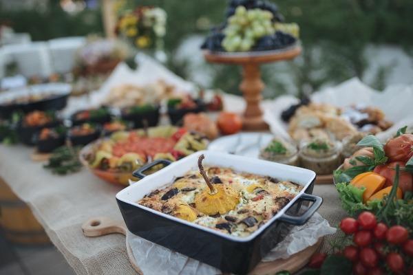 Podzimní svatební menu