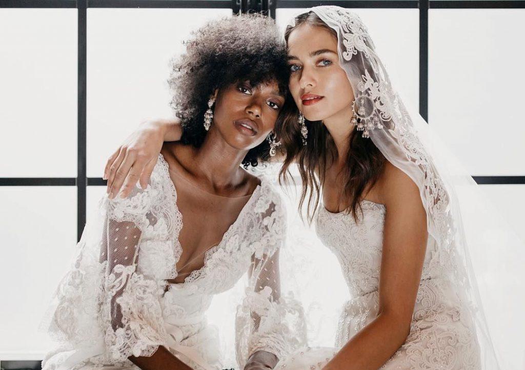 Svatební šaty Marchesa