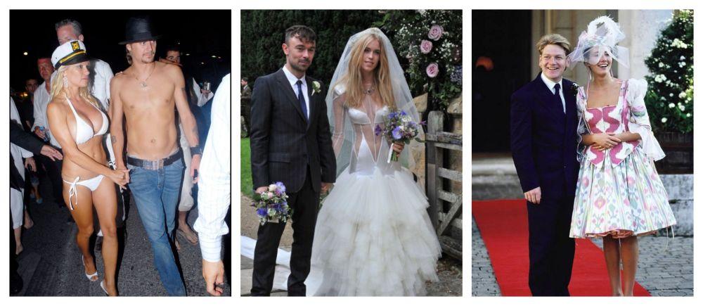 Šílené svatební šaty celebrit