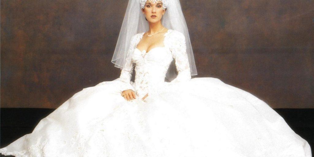 Bláznivé svatební šaty celebrit