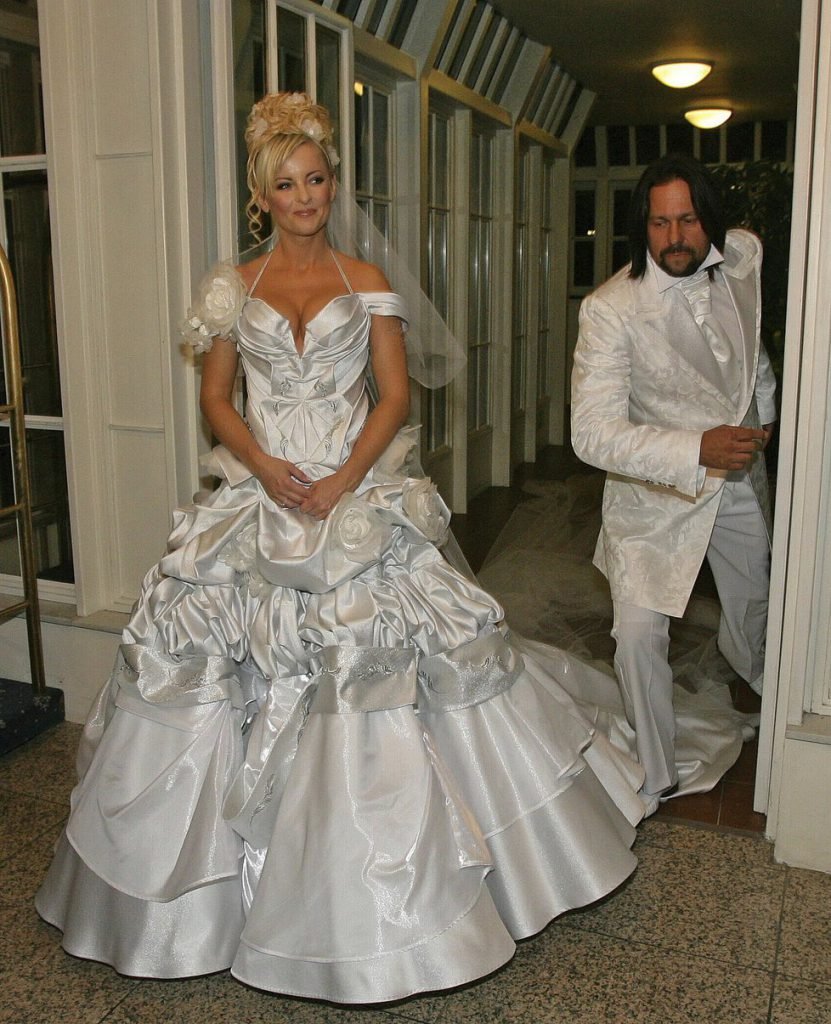 Ošklivé svatební šaty celebrit
