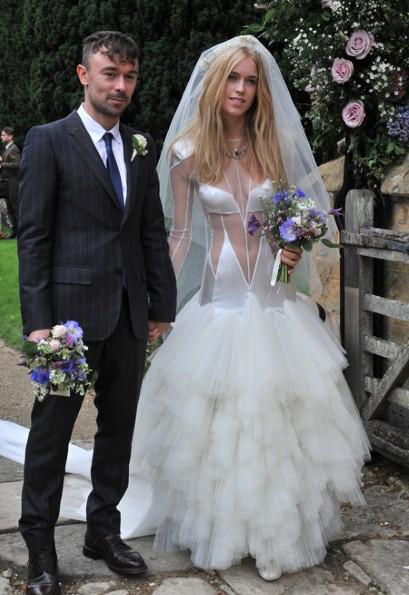 Nevkusné svatební šaty