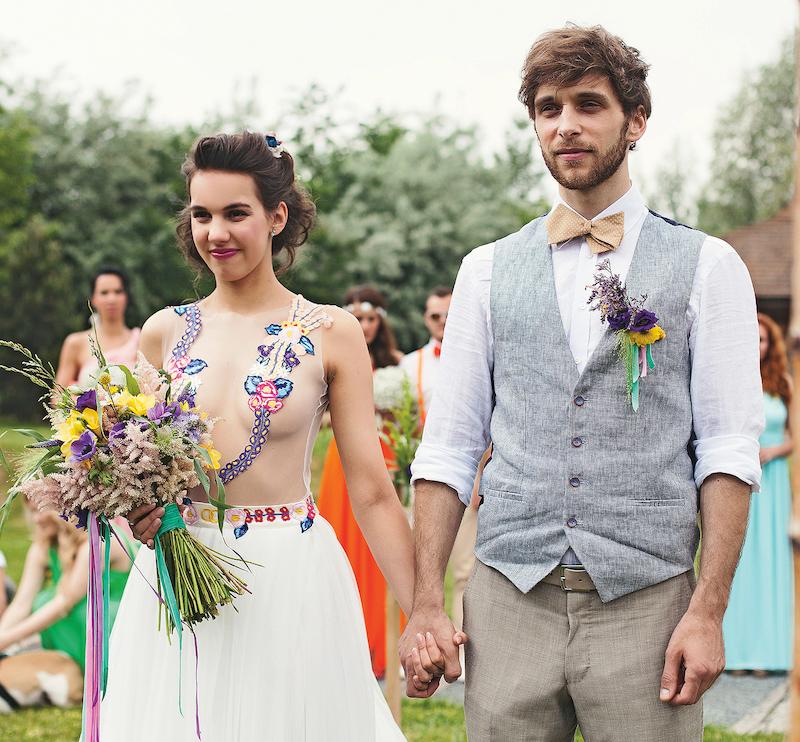 Bláznivé svatební šaty