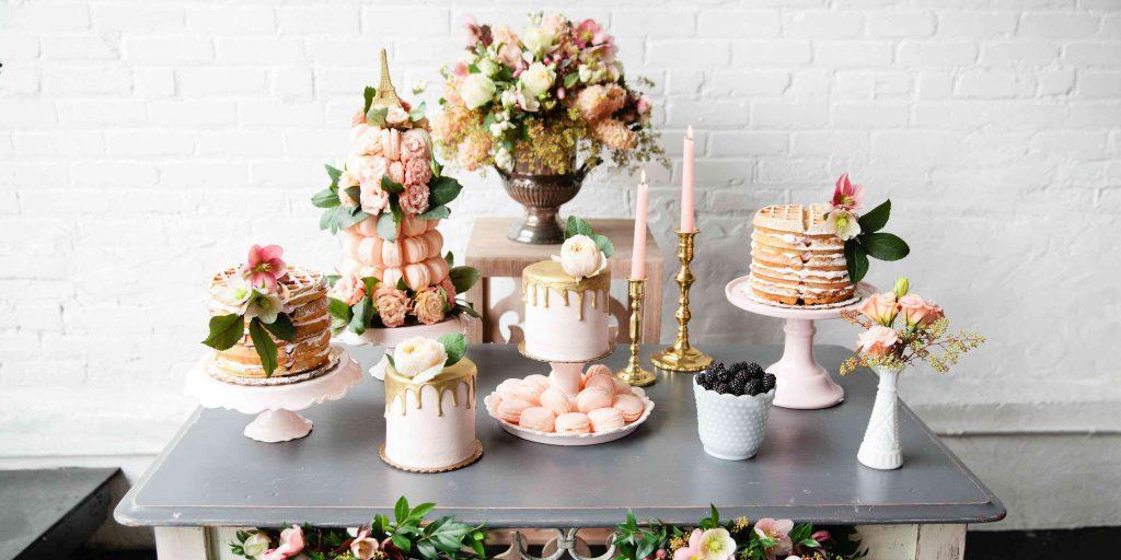 Sladký bar na svatbu