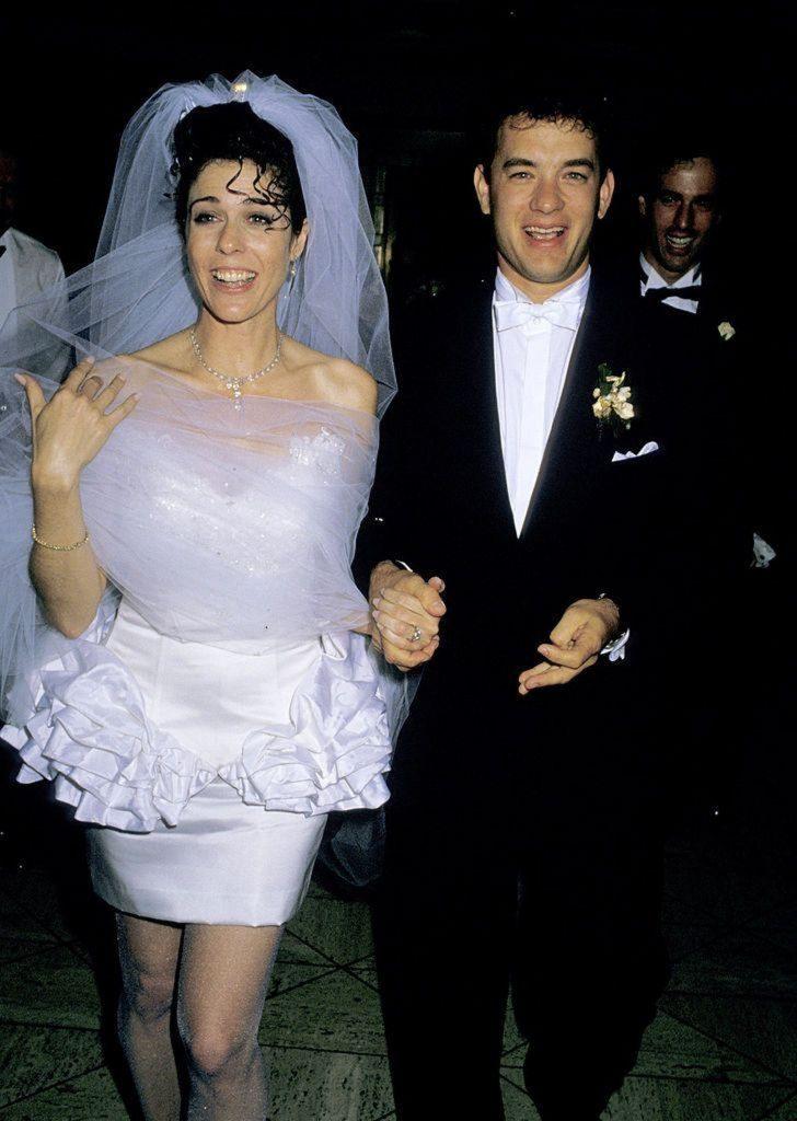 Podivné svatební šaty celebrit