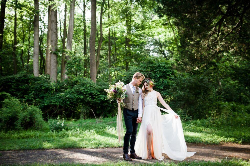 Svatba, novomanželské focení.
