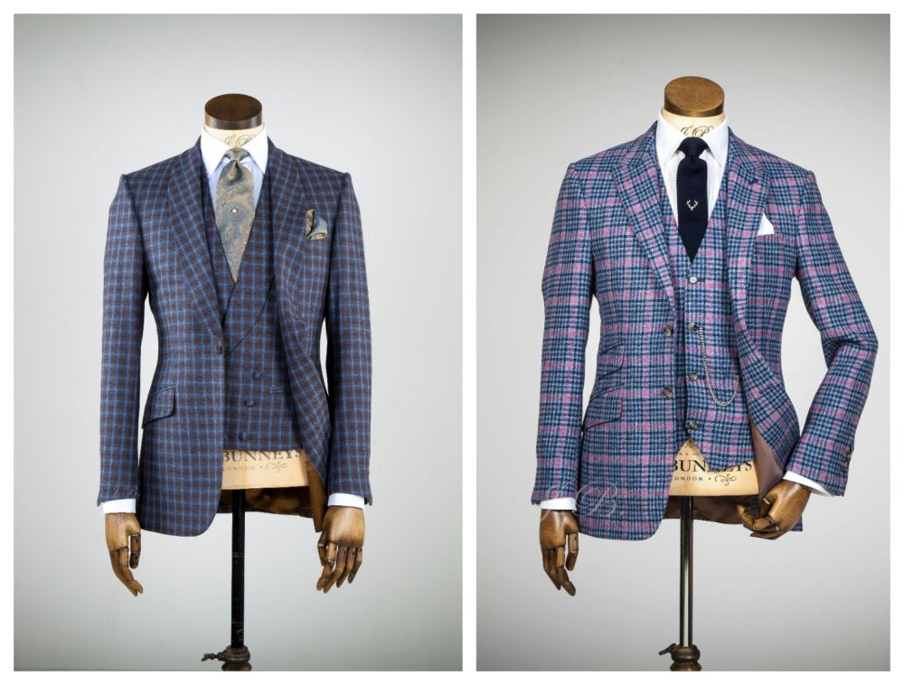 Kostkovaný oblek pro ženicha, károvaný oblek pro ženicha