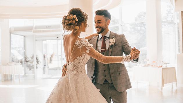 Svatební tanec, hudba na svatbu