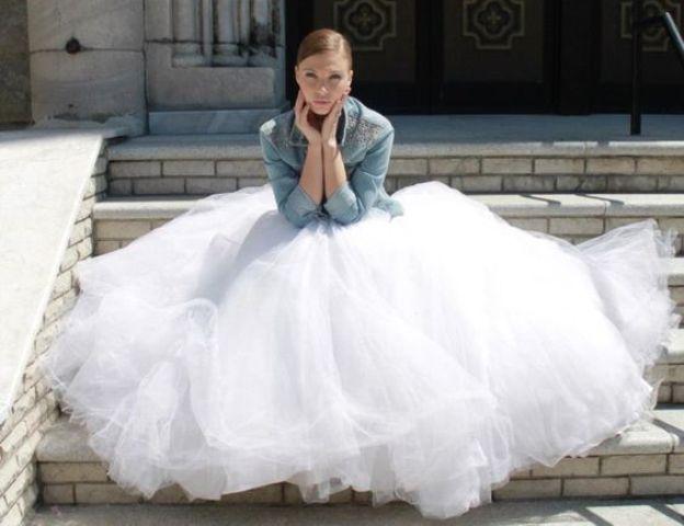 Svatební bundy, bunda pro nevěstu