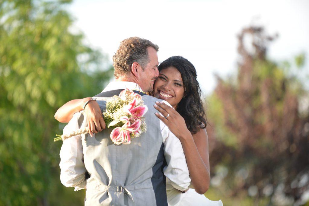 Svatební fotky, portrét novomanželů, fotoinspirace