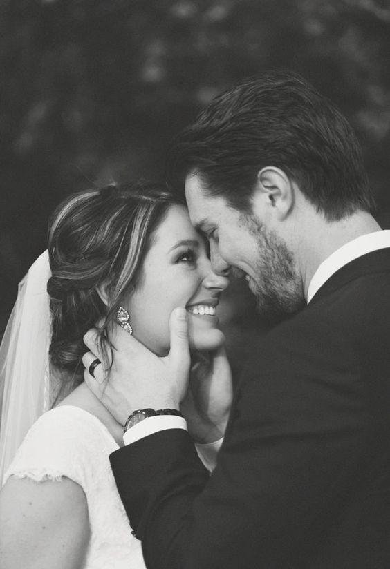 Svatební fotky nevěsty a ženicha