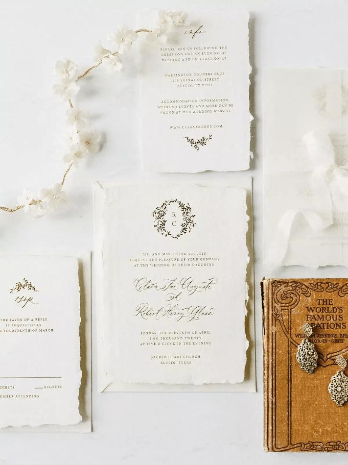 Svatební oznámení a kaligrafie