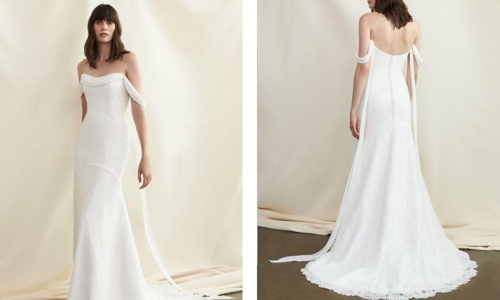 svatební šaty podzim 2021 Savannah Miller