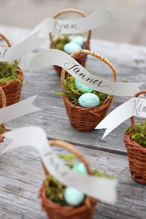 Velikonoční svatební výzdoba