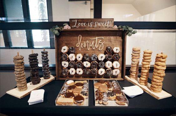 Svatební sladký bar