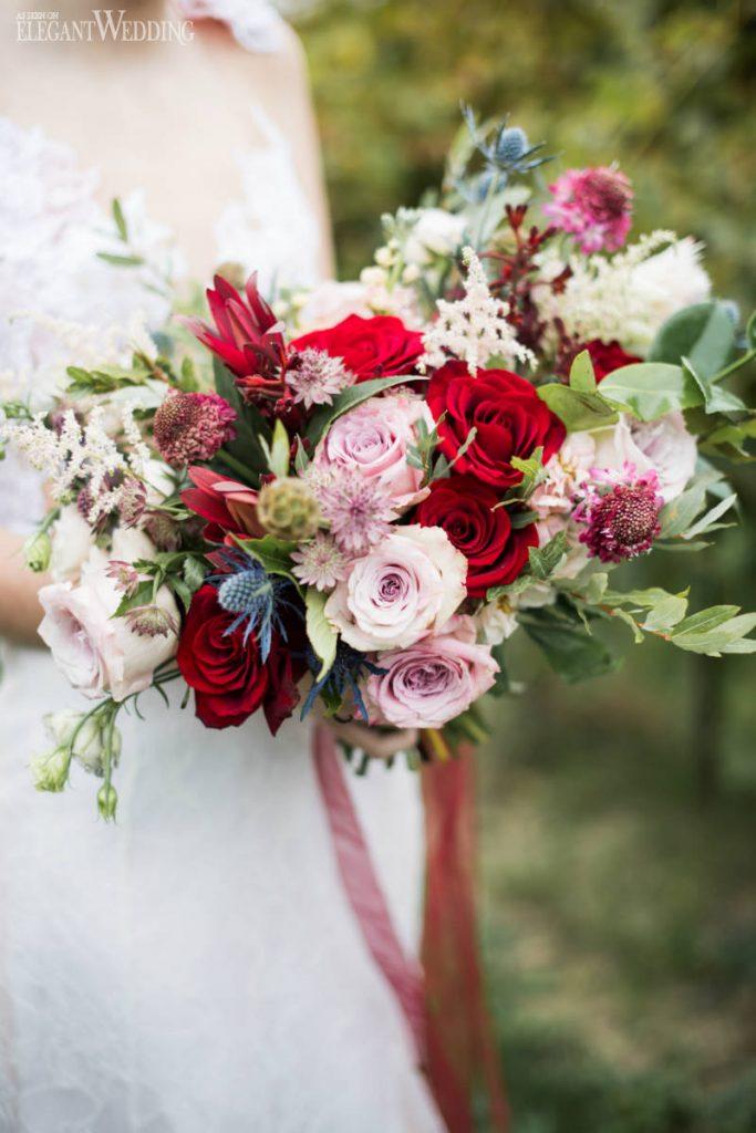 jarní kytice pro nevěstu 2021