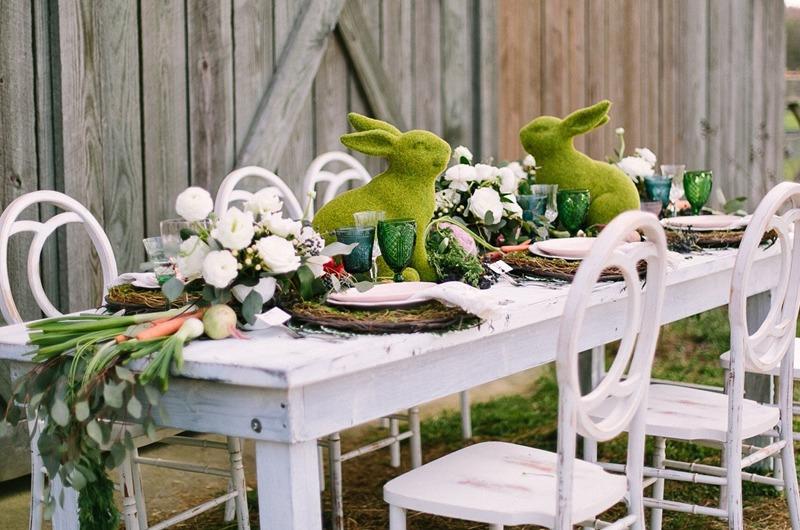 Velikonoční tematická svatba