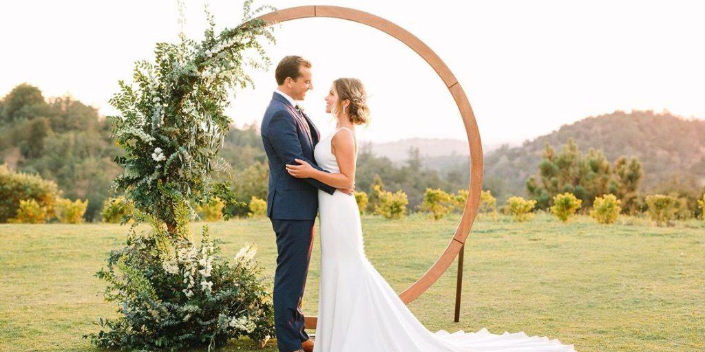 Dřevěné svatební téma