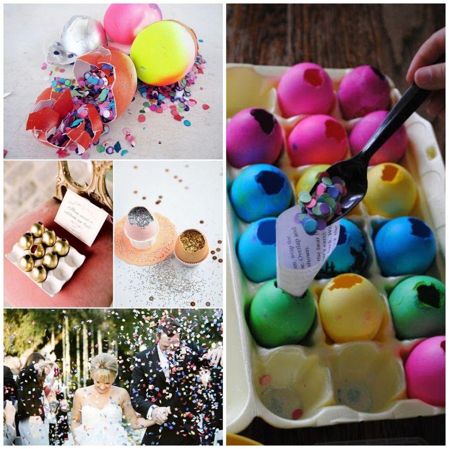 Cascarones, velikonoční svatba