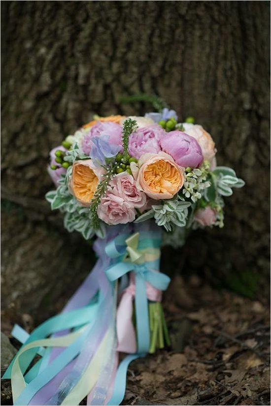 Velikonoční svatební kytice