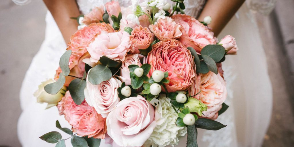Jarní svatební kytice roku 2021