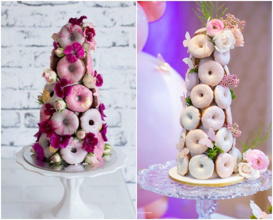 Donuty na svatbu
