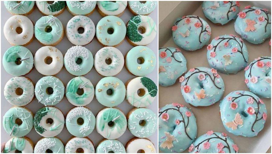 Svatební donuty